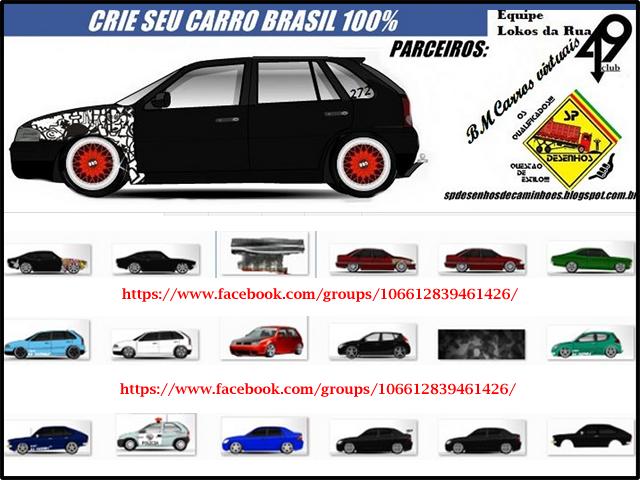 Crie Seu Carro Brasil 100%