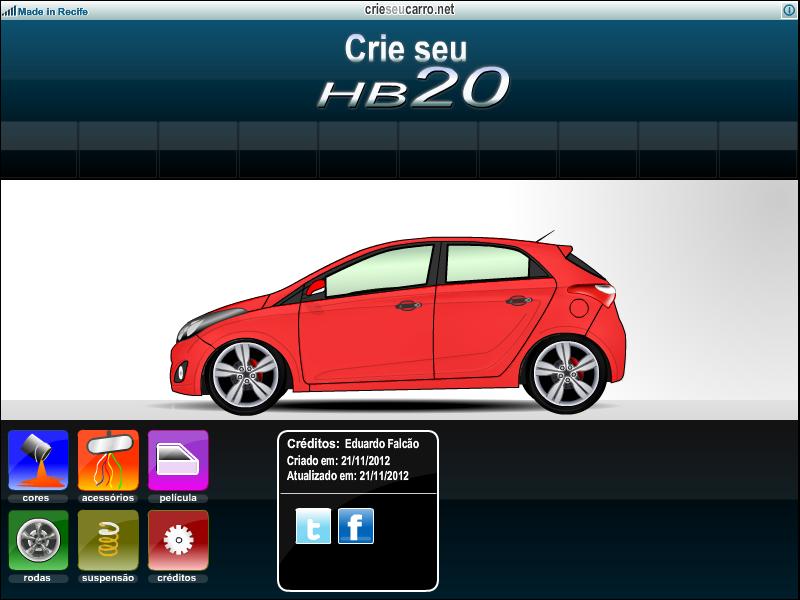 Crie seu HB20