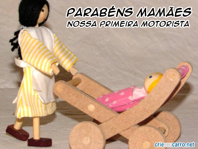 Dia das Mes | Crie seu Carro
