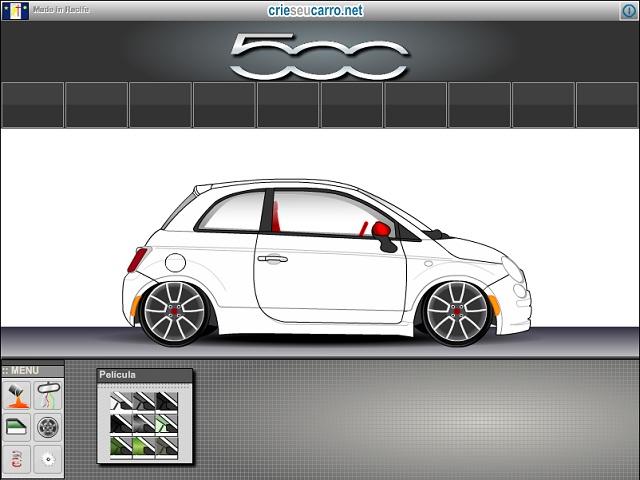 Crie seu Fiat 500