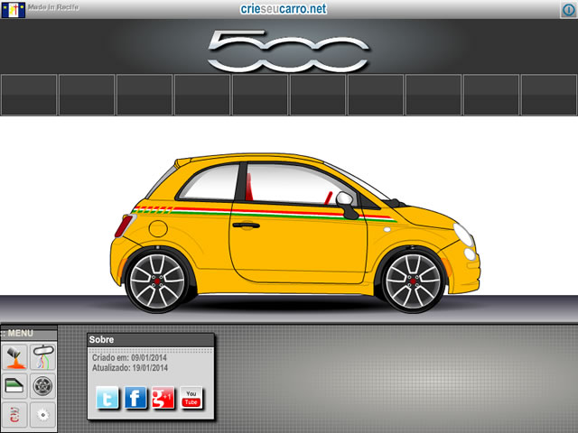 Novidades no Fiat 500