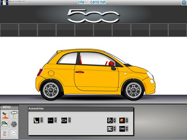 Roda 500 Sport Air | Crie seu Carro