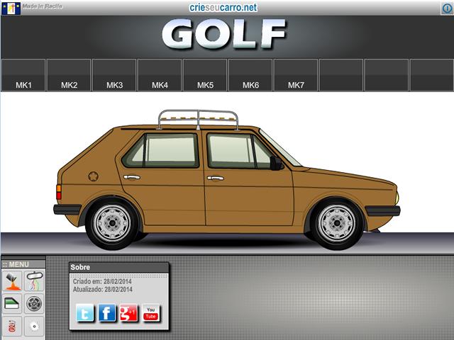 Crie seu Golf