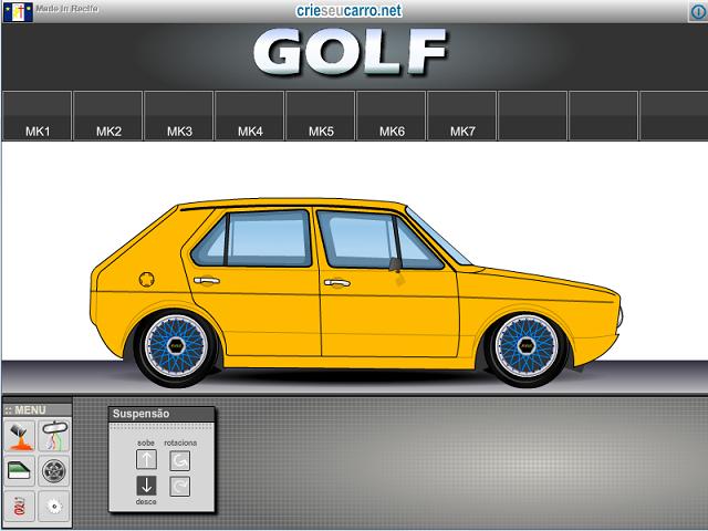 Golf MK1 | Crie seu Carro