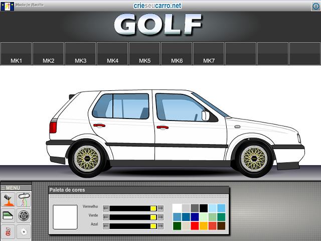 Crie seu Golf MK3