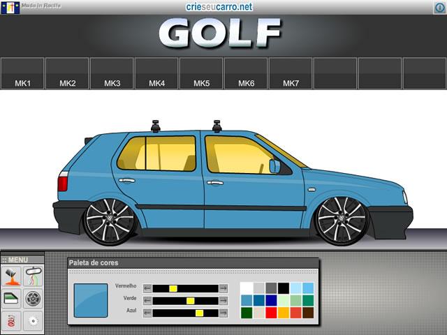 Crie seu Golf | Crie seu Carro