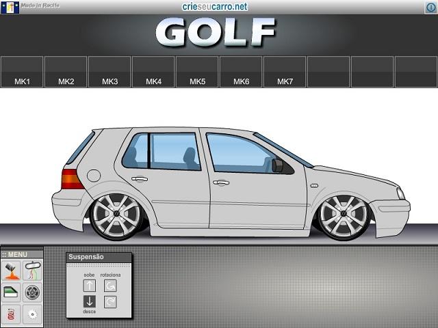 Crie seu Golf MK4