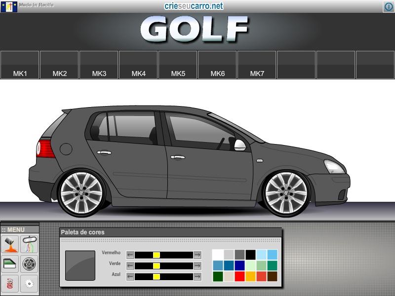 Golf MK5 | Crie seu Carro