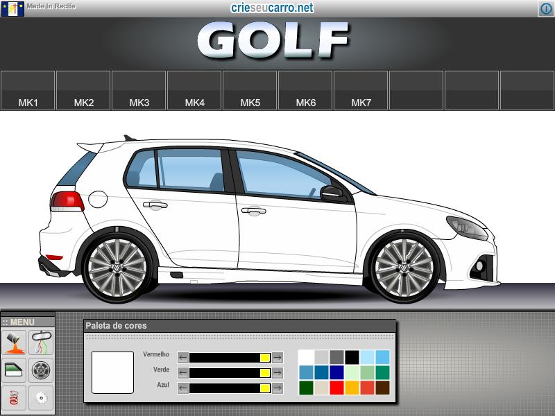 Crie seu Golf MK6