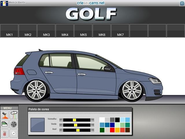 Crie seu Golf MK7