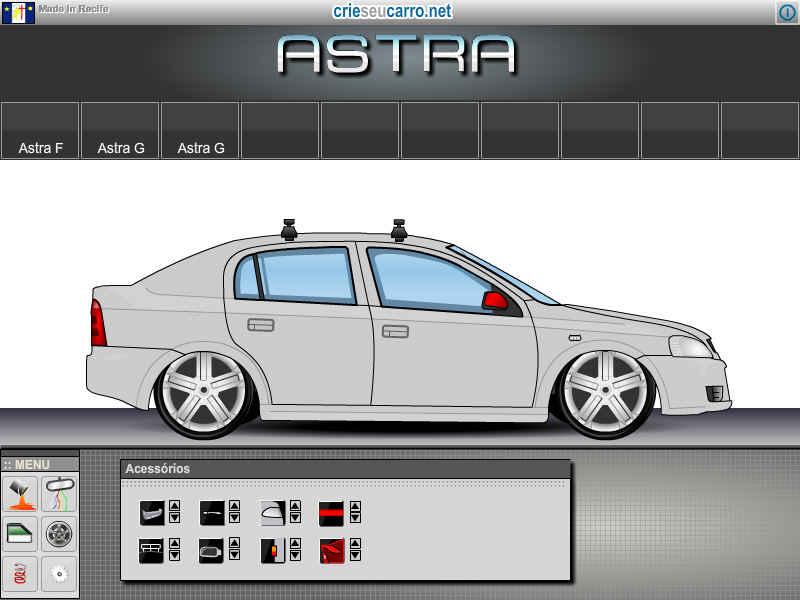 Astra Sedan | Crie seu Carro