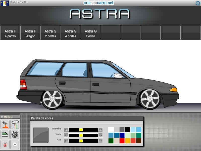 Astra Wagon | Crie seu Carro