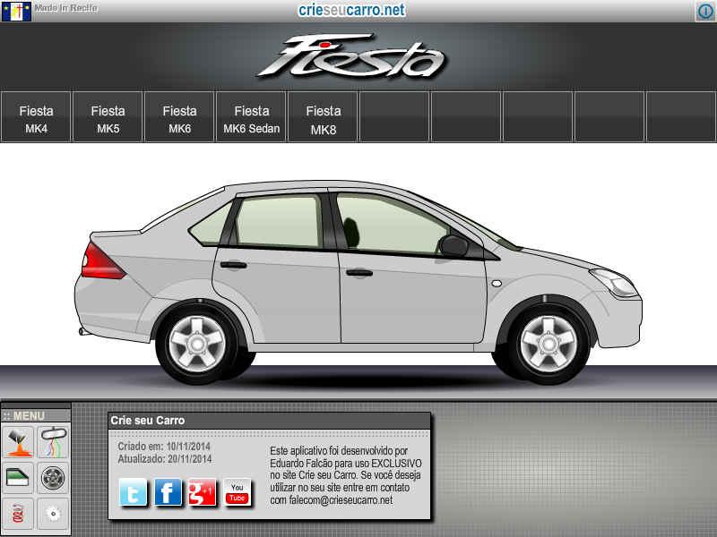 Fiesta Sedan | Crie seu Carro