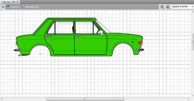 Fiat 128 | Crie seu Carro