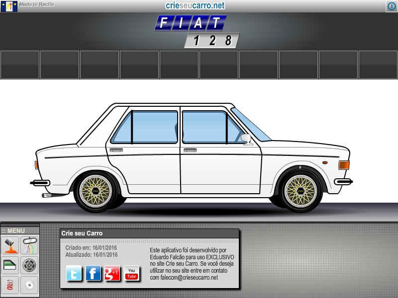 Crie seu Fiat 128